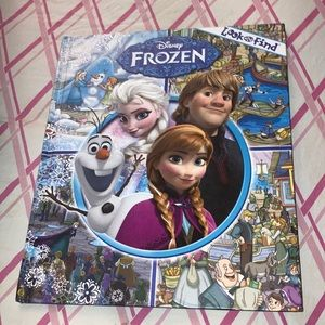Disney Frozen look and find Hardback picture book